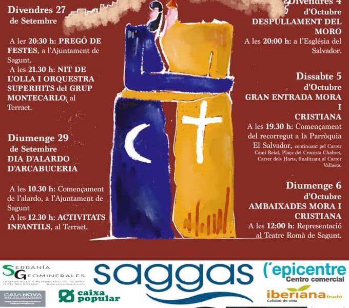 Llega la semana de Moros i Cristians de Sagunt