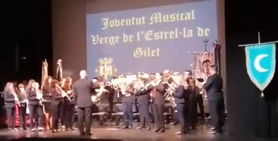 La Banda de Música vuelve a amenizar los Moros y Cristianos de Sagunt