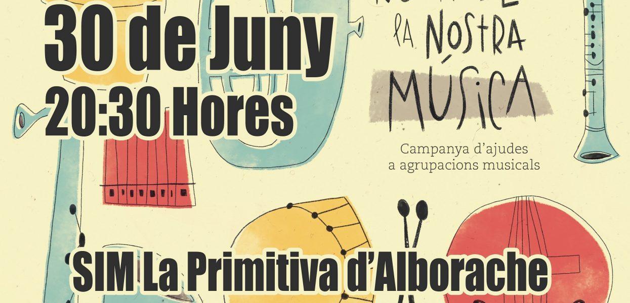 Las Bandas de Gilet y Alborache realizarán un extraordinario concierto en Santo Espíritu